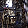 教会内部修復中
