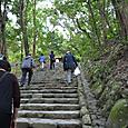 多賀宮への階段 豊受媛神の荒御魂を祀る