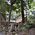 多賀宮 山の上に鎮座