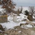 ヒサルルクの丘から海岸を眺める