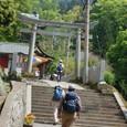 筑波神社参道を登る