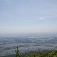 山頂から眺める筑波学園都市