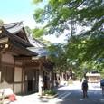 朝参拝した、筑波山神社に戻りました