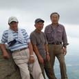 筑波山山頂にて