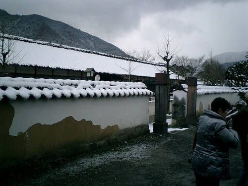 津和野 雪景色(1)