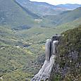 石灰棚(Hierve el Agua) 滝のよう