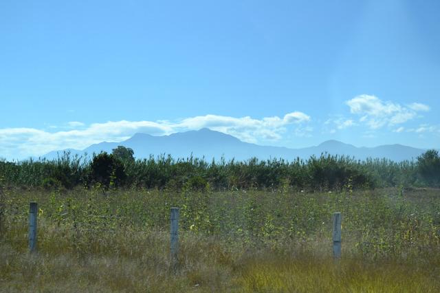 オアハカ東南70キロの山の上を目指す