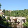 サンベール村と渓谷