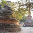 ワット・プラ・シー・サンペット 破壊された仏塔