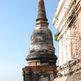 大仏塔最上階回廊にて