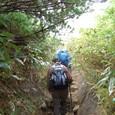 安達太良山を目指す