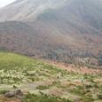 和尚山への尾根