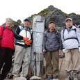 安達太良山登頂記念写真