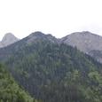 九寨溝4千メータの峰々