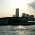大桟橋とランドマーク