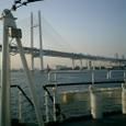 東京湾に出る