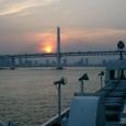 横浜港 帰還