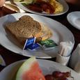 豪華な朝食(無料)