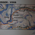 ヴォスからベルゲンまでの鉄道