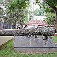 英国植民地時代の大砲か