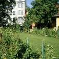 同じくゲーテハウス裏庭